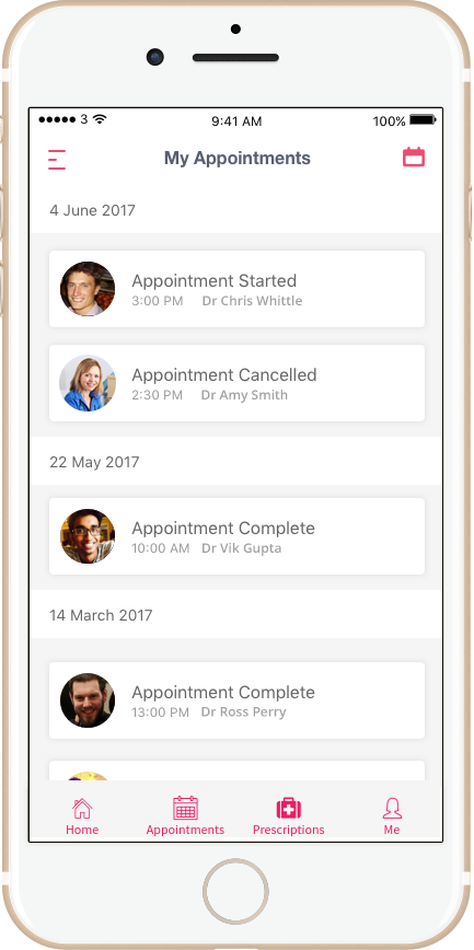 mobile appointments
